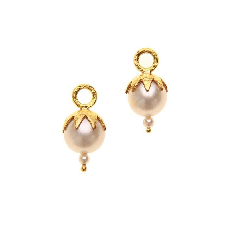 Elizabeth Locke Pearl Earring Charms
