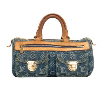 Denim Speedy Bag