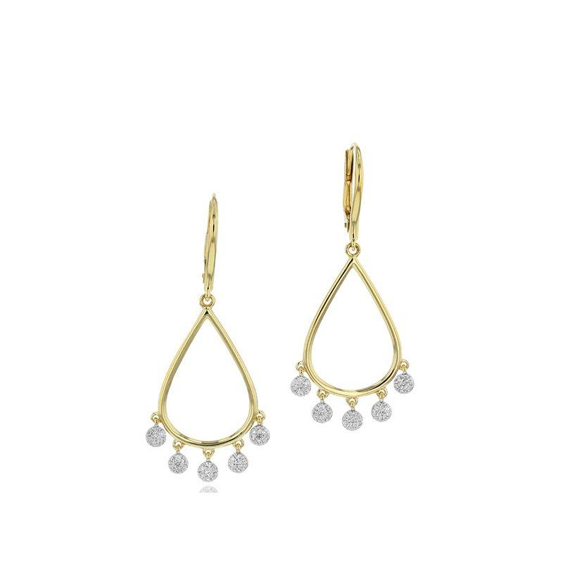 Phillips House Infinity Pear Dangle Earrings