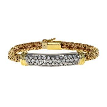 Woven Diamond Bracelet