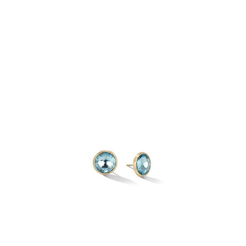 Marco Bicego Jaipur Color Collection Blue Topaz Earrings