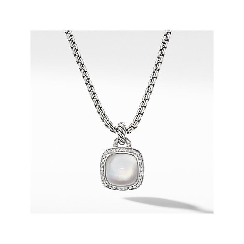 David Yurman Albion Pendant with Rock Crystal and Diamonds
