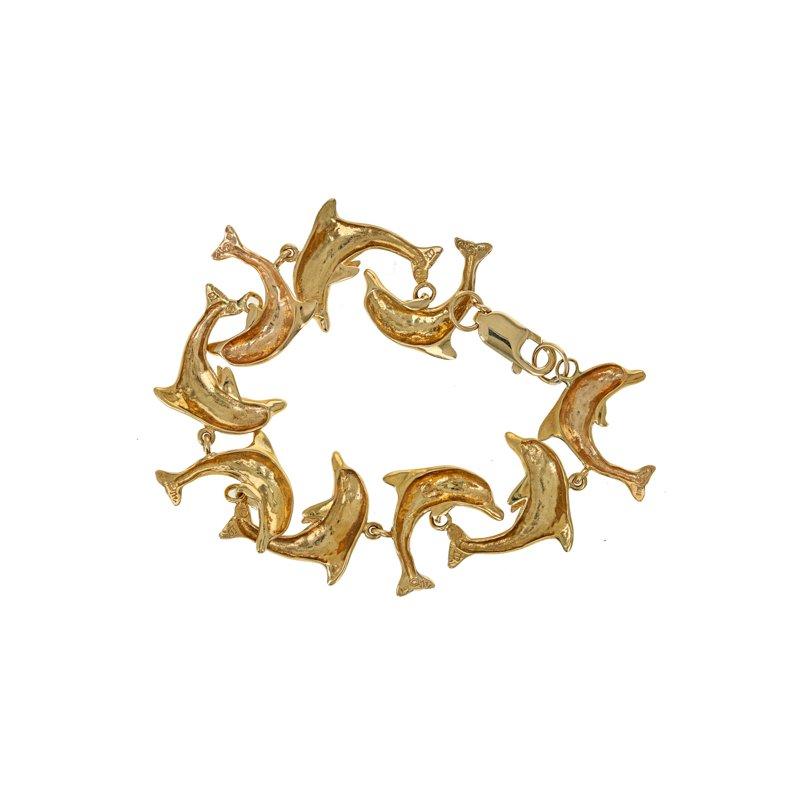 Estate Radcliffe Dolphin Link Bracelet