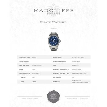 Oyster Perpetual (Ref. 114300)