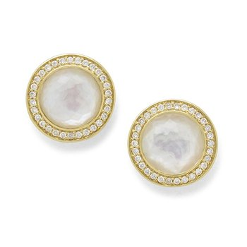 Lollipop Mother-of-Pearl Stud Earrings