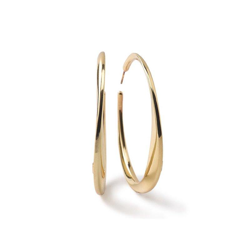 Ippolita Classico Large Twisted Hoop Earrings