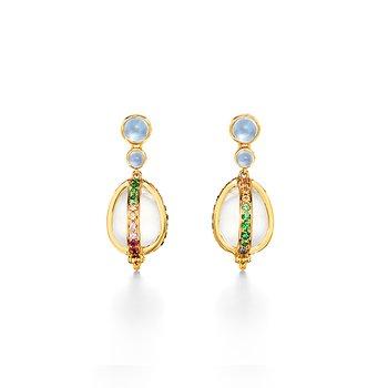 Rainbow Amulet Earrings