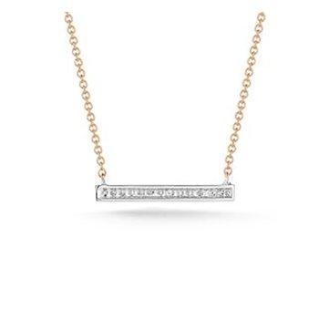 Sylvie Rose Medium Bar Necklace
