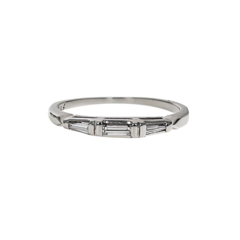 Estate Radcliffe 3 Stone Diamond Ring