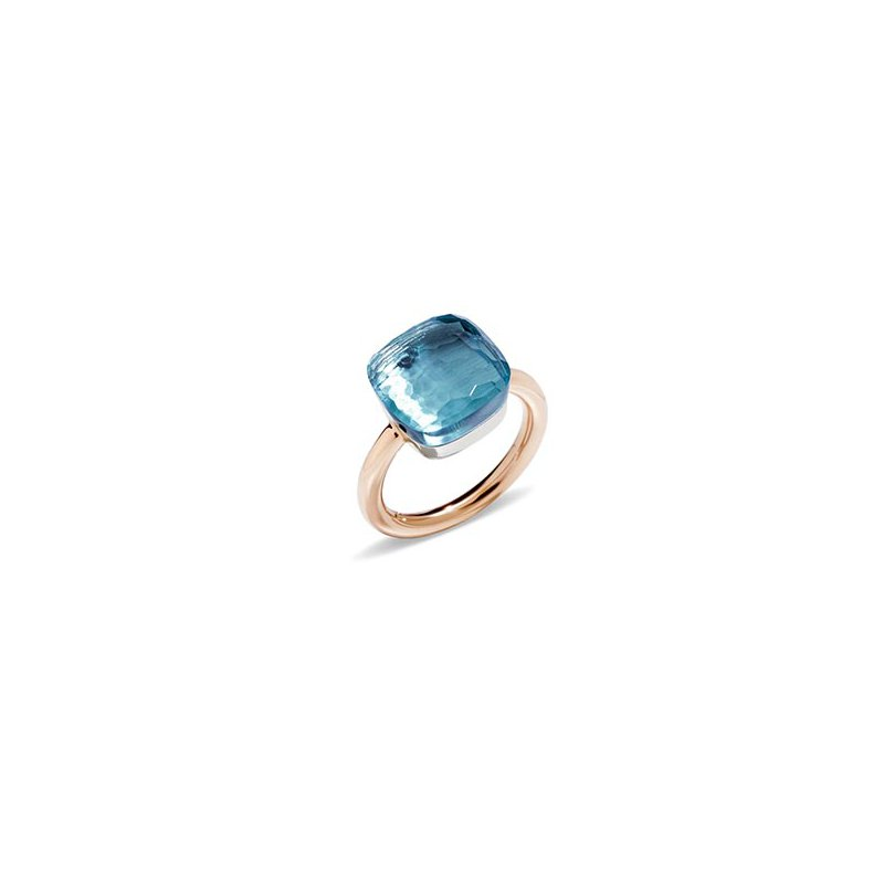 Pomellato Nudo Maxi Ring in Sky Blue Topaz