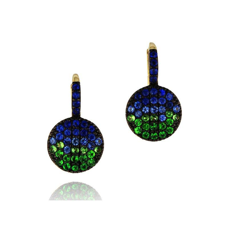 Phillips House Marea Petite Infinity Leverback Earrings