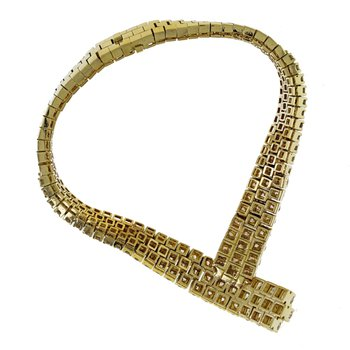 "Diamond ""V"" Mesh Bracelet"