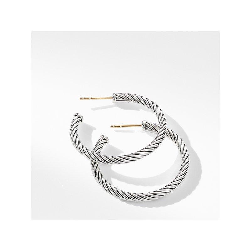 David Yurman Cable Hoop Earrings