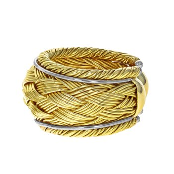 Woven Open Ring