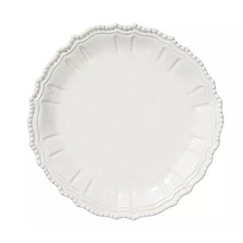 Incanto Stone White Baroque Round Platter