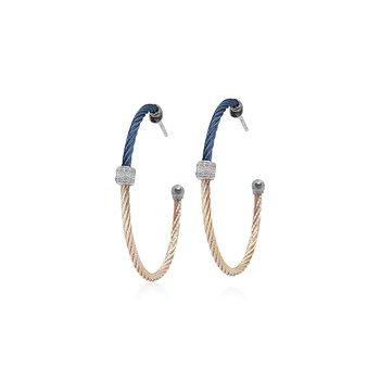 Colorblock Hoop Earrings