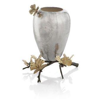 Butterfly Ginkgo Vase