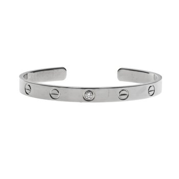 Diamond Love Cuff