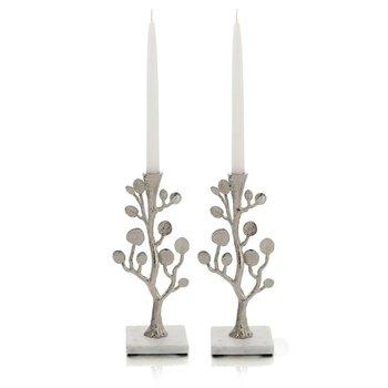 Botanical Leaf Candleholders