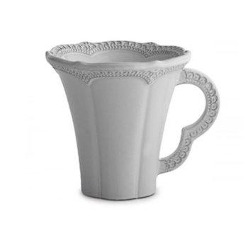 Merletto White Mug 12oz