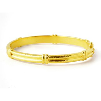 Small Banded Bangle Bracelet