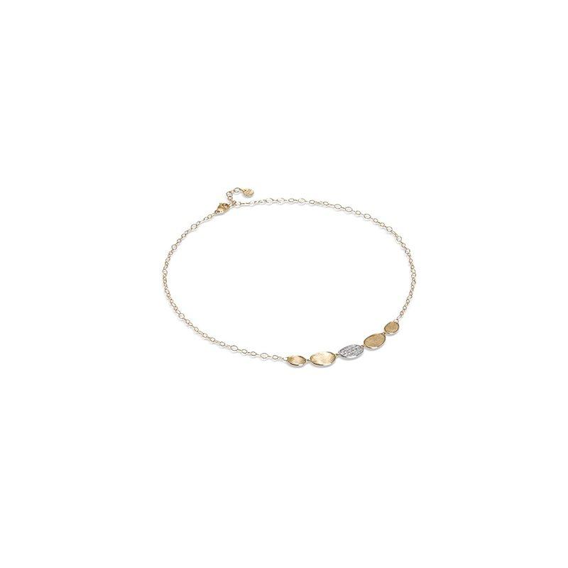 Marco Bicego Lunaria Collection Petite Half Collar Necklace