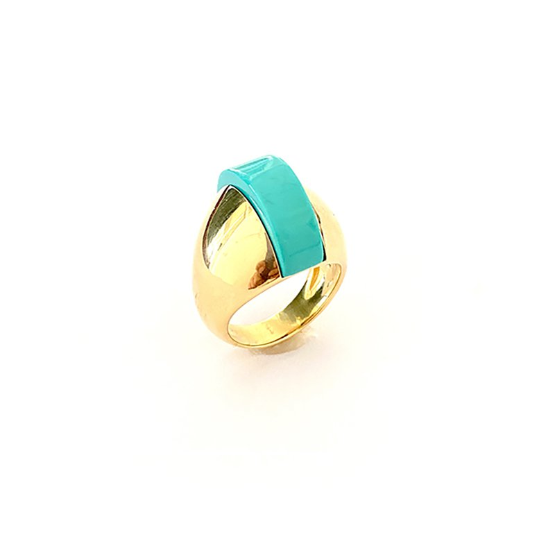 Aletto Brothers Turquoise Domed Ring
