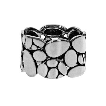 Pebble Concave Ring