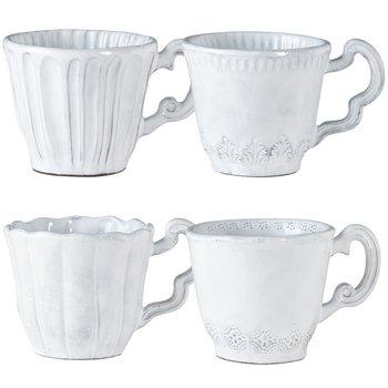 Incanto White Assorted Mugs