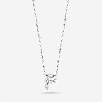 "Diamond ""P"" Pendant"