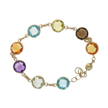 Multicolor Gemstone Bracelet