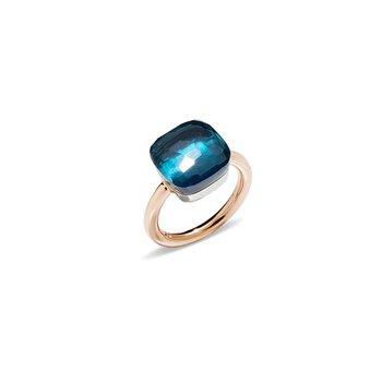 Nudo Maxi Ring in London Blue Topaz