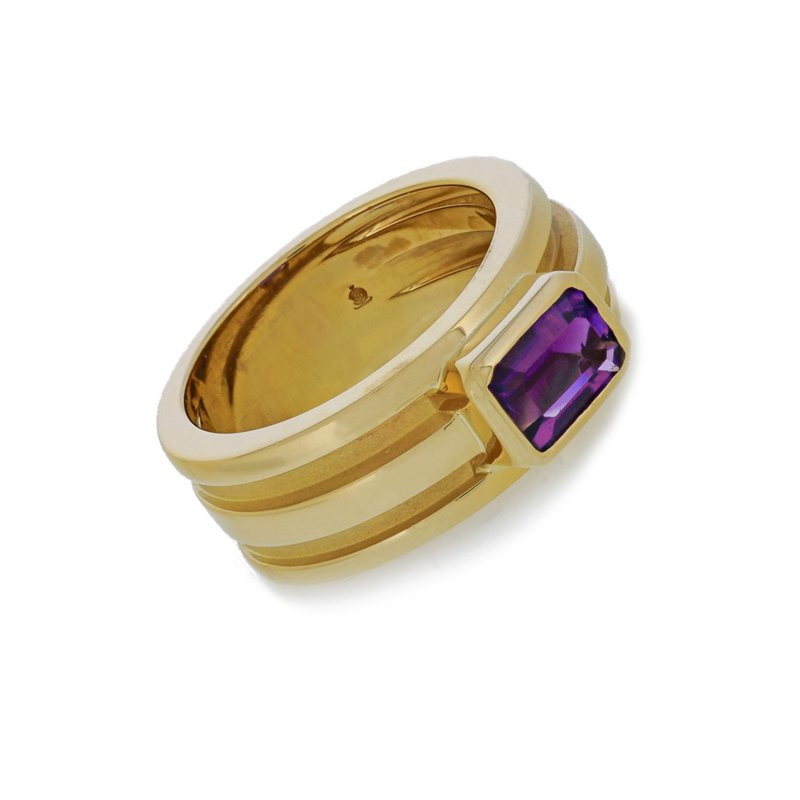 Estate Tiffany & Co. Atlas Ring