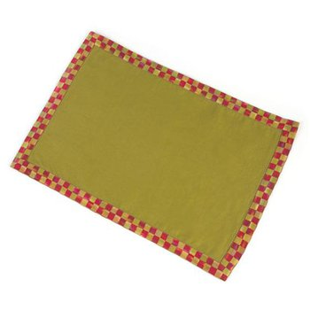 Orchard Check Hemstitch Placemat