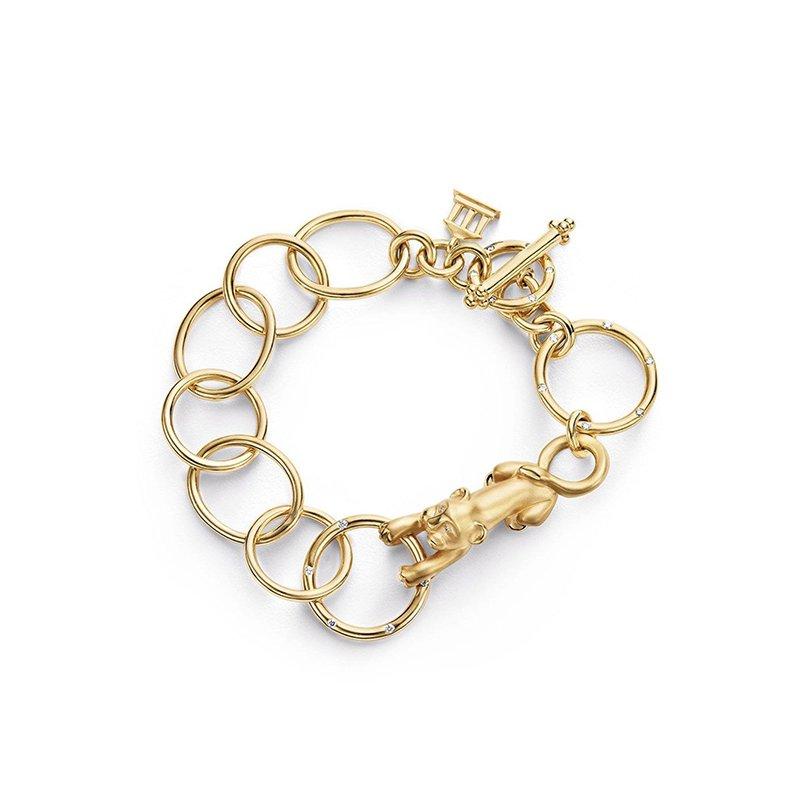 Temple St. Clair Lion Arno Link Bracelet
