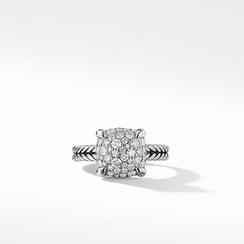 Chatelaine Ring with Diamonds