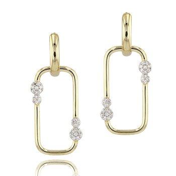 Link Huggie Earrings