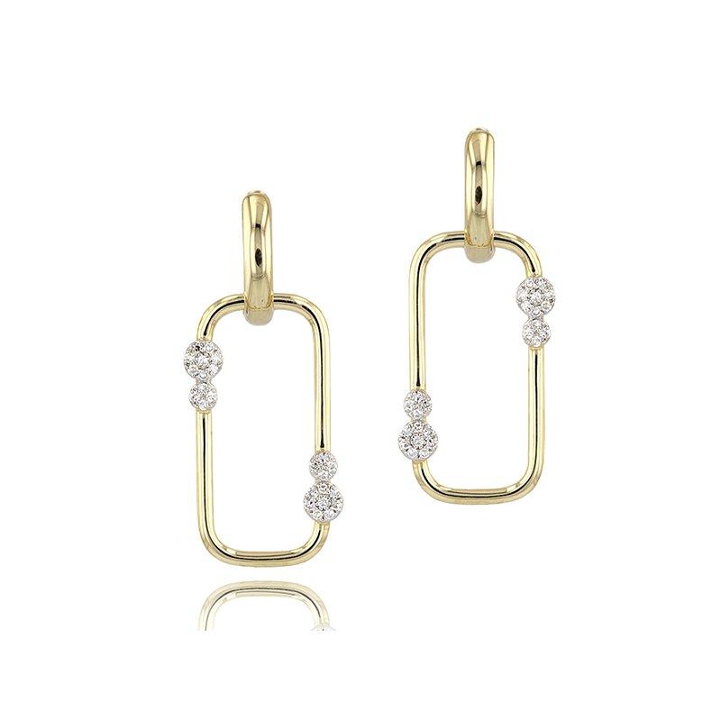 Phillips House Link Huggie Earrings