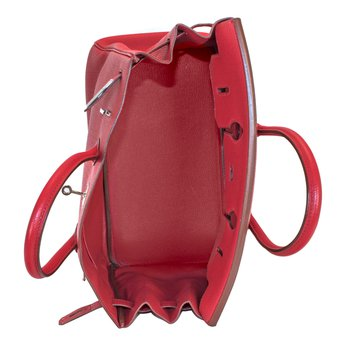 35cm Rouge Garance Birkin Bag