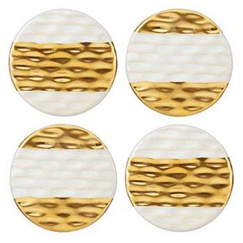 Truro Gold Coasters