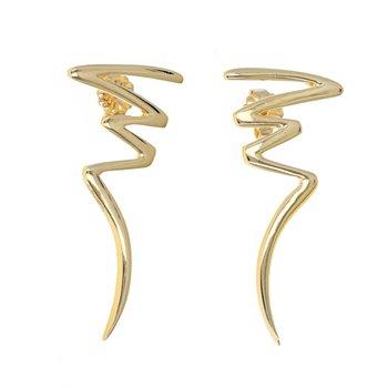 Paloma Picasso Zig Zag Earrings