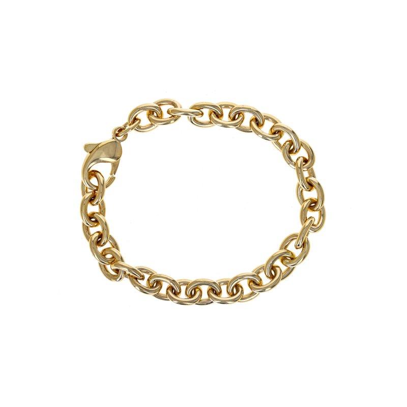 Estate Radcliffe Oval Link Chain Bracelet