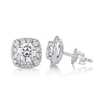0.50 CTTW Diamond Earrings