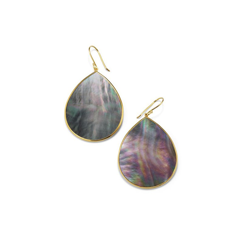 Ippolita Polished Rock Candy Jumbo Stone Teardrop Earrings