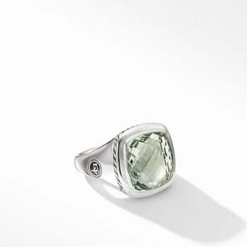 Albion Ring with Prasiolite