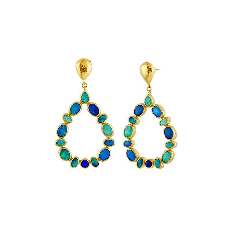 Gurhan Opal Drop Earrings