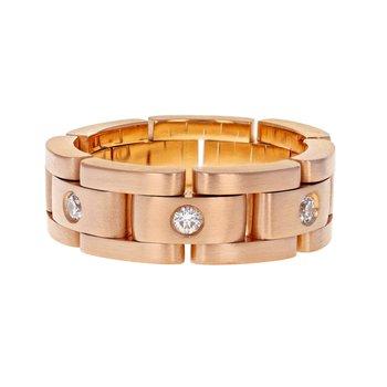 Furrer Jacot Diamond Link Ring