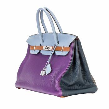 35cm Limited Edition Arlequin Birkin Bag