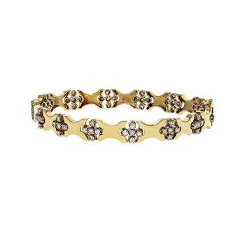 Cross Station Diamond Bracelet