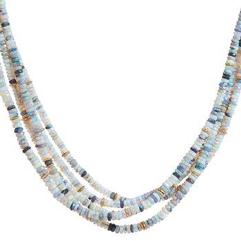 5 Strand Opal Necklace